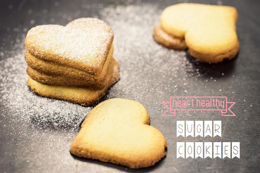heart healthy sugar cookies