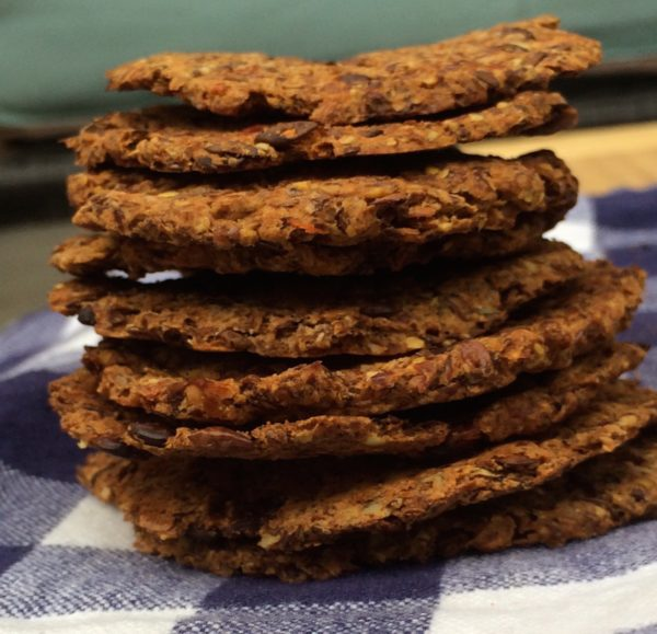 "Lentil <span class=""amp"">&</span> Flax Crackers"