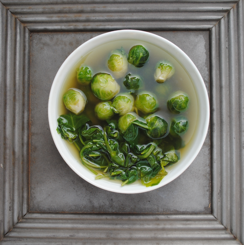 brussels sprouts and greens