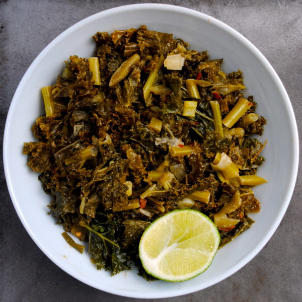 Spicy Sautéed Kale with Lime