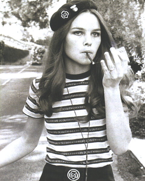 michelle phillips girl scout smoking