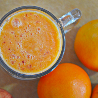 Orange-Ginger Creamsicle Smoothie