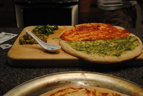 Vegan Ricotta Pizza