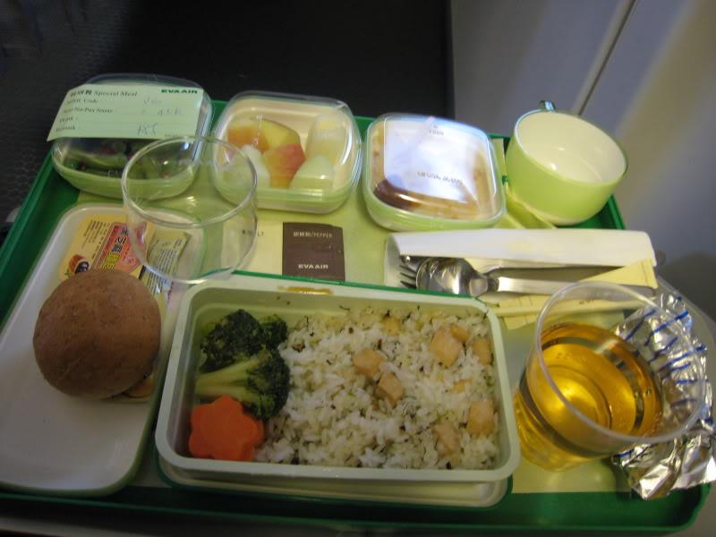 Vegan In-Flight Dining...