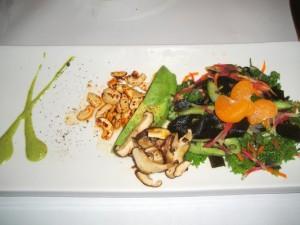 Raw sea vegetable and avocado salad - Millennium