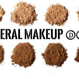 Mineral Makeup, Diy