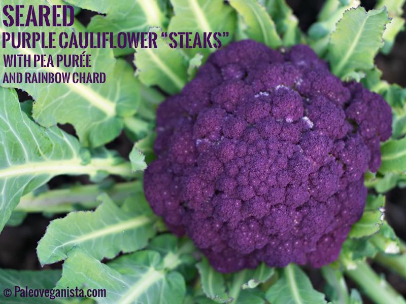 seared-purple-cauliflower-steaks-pea-puree-rainbow-chard