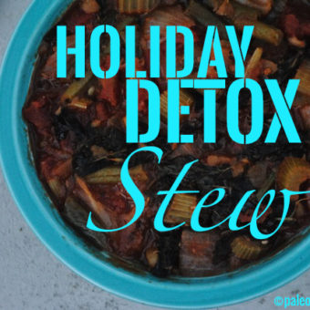 Holiday Detox Survival Kit, Part 1