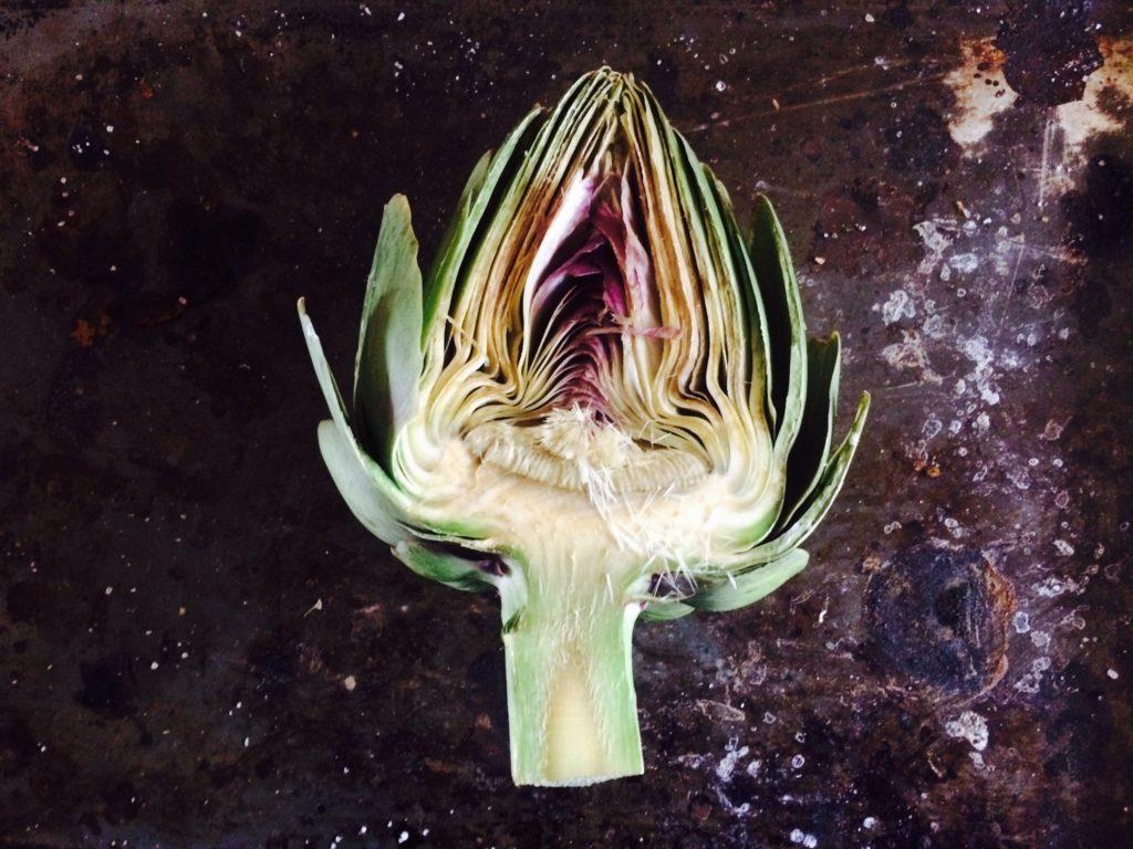 artichoke half