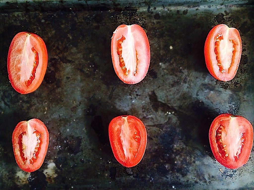 raw roma tomatoes