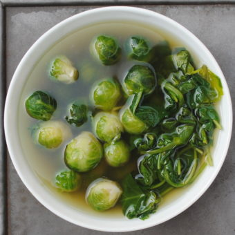 Cooking Smart: Brussels Sprouts & Greens