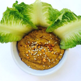 Spicy Green Bean Tamale Hummus