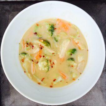 Thai Peanut Soup