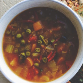 The Best Vegan Paleo Vegetable Soup