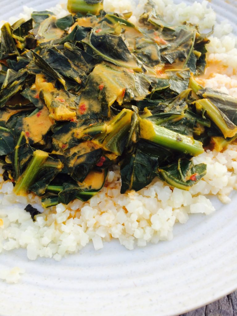 thai curry collard greens